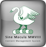 Sine Macula Content Management System
